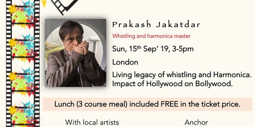 Tribute to Bollywood with Prakash Jakatdar (15/09)