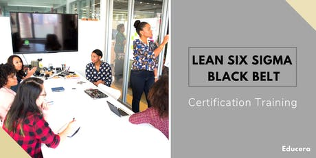 Lean Six Sigma Black Belt (LSSBB) Certification Training in  Moncton, NB tickets