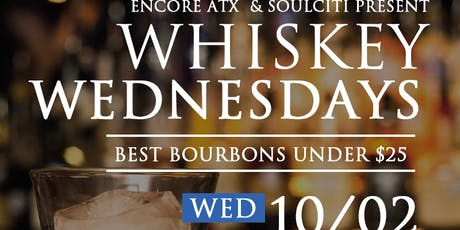 Whiskey Wednesday | Taste Testing and Class tickets