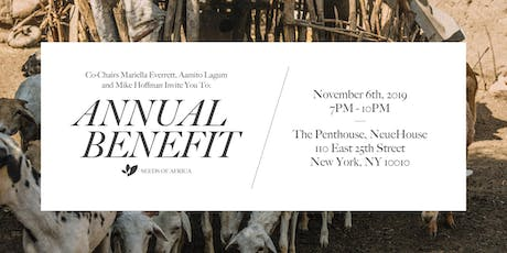 Seeds of Africa Annual Benefit tickets