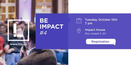 BE IMPACT #4 - IMPACT INVESTING by LITA.co billets