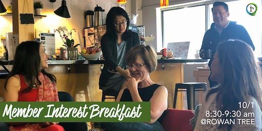 Member Interest Breakfast