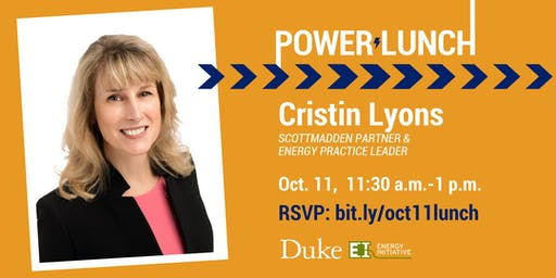 Power Lunch with Cristin Lyons, Oct. 11, 2019