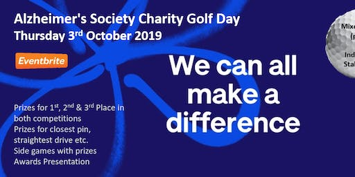 Alzheimer's Charity Golf Day 2019 - Chesterfield GC