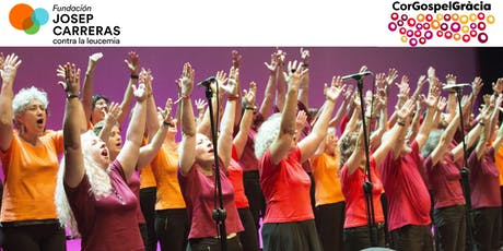 Concierto Cor Gospel Gràcia (en beneficio de la Fundación Josep Carreras) entradas