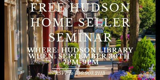 Hudson Home Seller Seminar