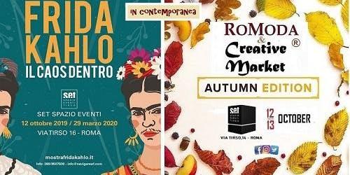 "RoModa & Creative Market e Frida Kahlo "" Il caos dentro """