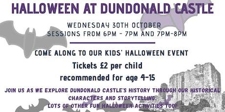 Kids' Halloween Event @ Dundonald Castle tickets