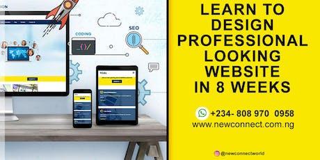 Learn Web design/ Development in Nigeria tickets
