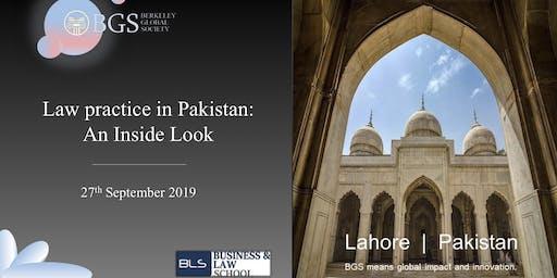 Law Practice in Pakistan: An Inside Look