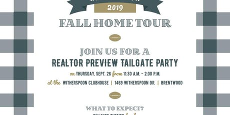 Realtor Preview Tailgate Lunch tickets