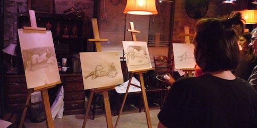 Cours de dessin intuitif avec Jenny Grossman