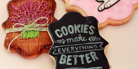 The Cookie Shop - Aula de Biscoitos Decorados Módulo 2 ingressos