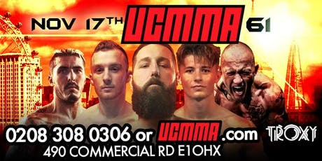 UCMMA 61 SUNDAY NOV 17TH tickets