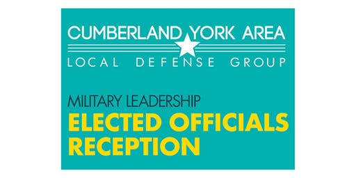 Military Leadership Elected Officials Reception