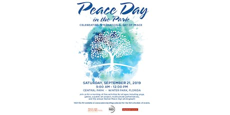 Peace Day in the Park Tabling Registration tickets
