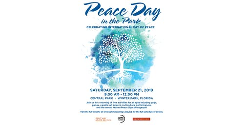 Peace Day in the Park Tabling Registration