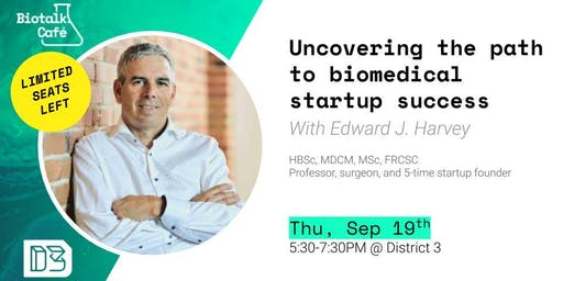 Biotalk Café: Uncovering the path to biomedical startup success