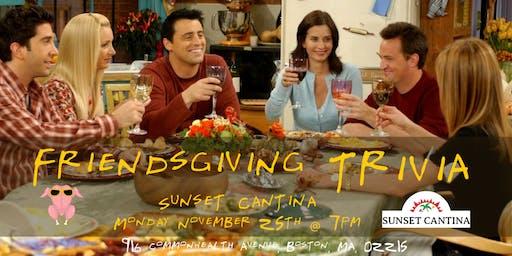 Friendsgiving Trivia at Sunset Cantina