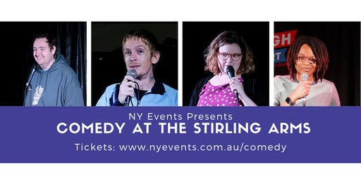 NY Events Presents - COMEDY at Guildford Stirling Arms