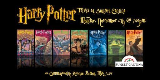 Harry Potter Books Trivia at Sunset Cantina