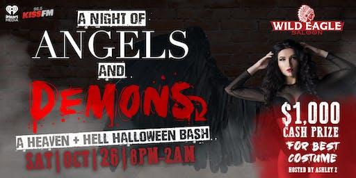 Wild Eagle Saloon Heaven & Hell Halloween Bash
