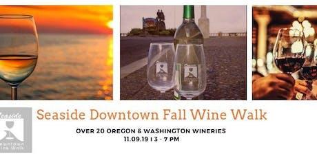 Downtown Fall Wine Walk tickets
