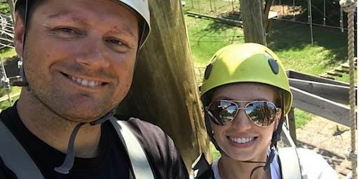 Couples Night Climb at Wild Blue Ropes - September 2019