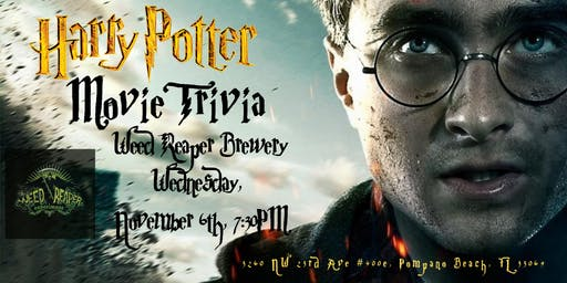 Harry Potter (Movies) Trivia at Experiment Brewery & Taproom