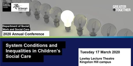 Department of Social Work and Social Care Annual Conference tickets