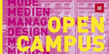 Open Campus +++ DESIGN +++ Tickets