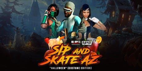 Sip And Skate AZ Halloween Costume Edition  tickets