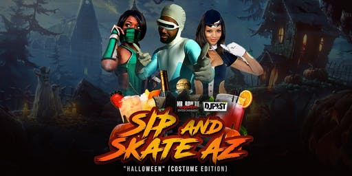 Sip And Skate AZ Halloween Costume Edition