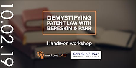 Demystifying Patent Law with Bereskin & Parr tickets