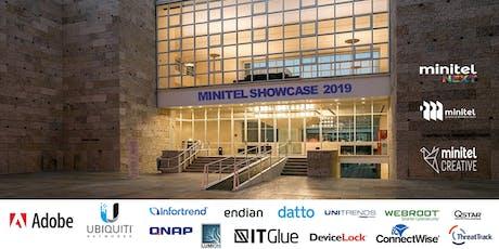 Minitel Showcase 2019 bilhetes