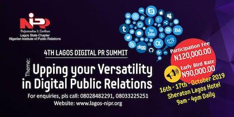 4th Lagos Digital Public Relations Summit tickets