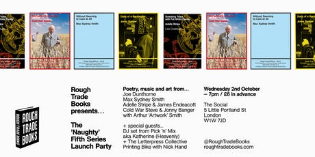Rough Trade Books presents... The 'Naughty' Fifth Series Launch Party tickets