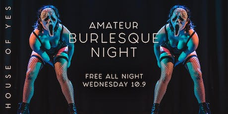 Amateur Burlesque Night: Oooky Spooky Edition tickets