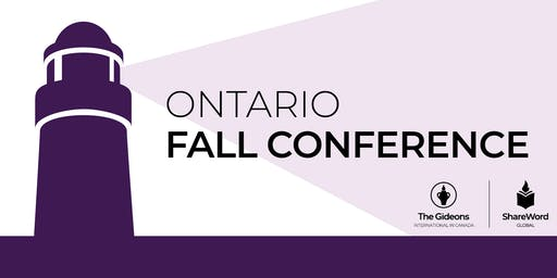 N.E. ON Fall Conference 2019
