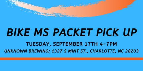 Bike MS Packet Pick-Up Celebration tickets