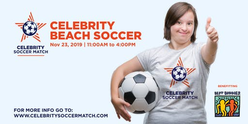 Celebrity Soccer Match Supporting Best Buddies