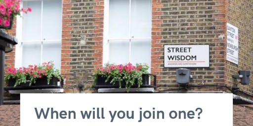 Street Wisdom Poole ~ Be part of our annual global celebration of wandering