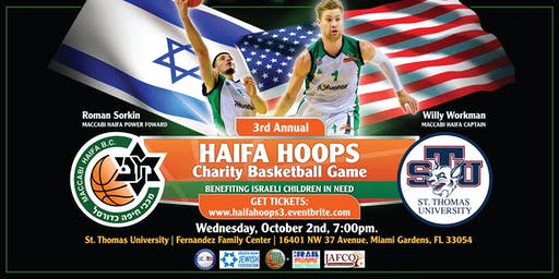 3rd Annual Haifa Hoops for Kids Charity Basketball Game
