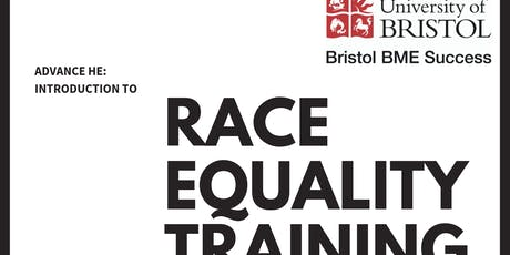 UoB: Introduction to Race Equality, October 2nd Training tickets
