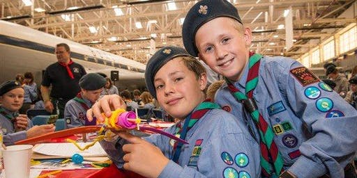 The Scouts and RAF Air Activities Launch - Cosford Air Museum