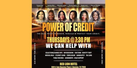 The Power of Credit Houston TX  tickets