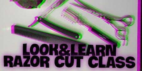 LOOK&LEARN Razor Cut Class tickets