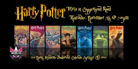 Harry Potter Books Trivia at Copperhead Road Bar & Nightclub tickets