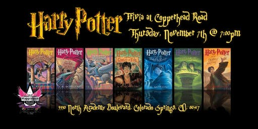 Harry Potter Books Trivia at Copperhead Road Bar & Nightclub