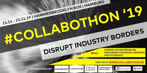 Collabothon 2019: Disrupt Industry Borders